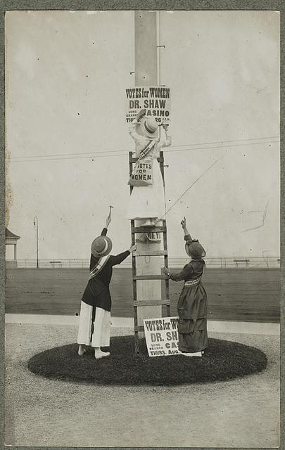 """Suffrage campaign days in New Jersey"""