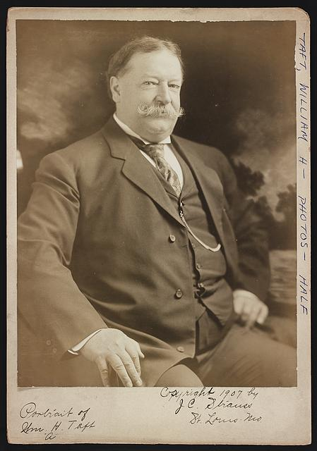 Portrait of Wm. H. Taft