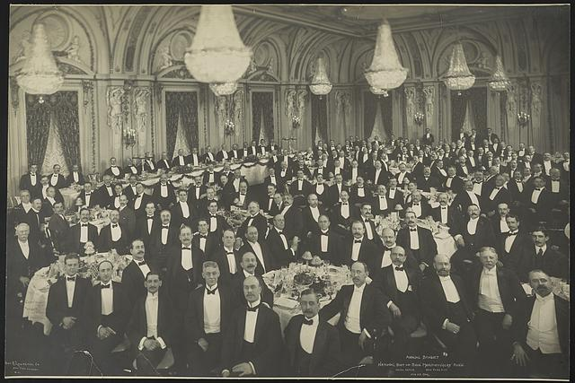 Annual banquet, National Boot and Shoe Manufacturers' Ass'n., Hotel Astor, New York City, Feb. 23, 1906