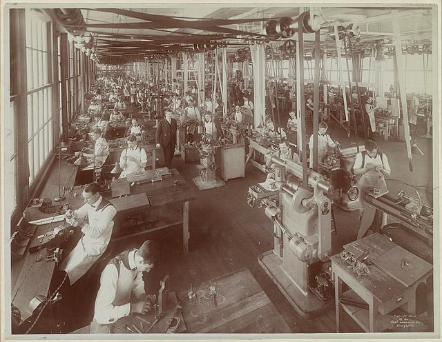 Tool room of the National Cash Register Co., Dayton, Ohio