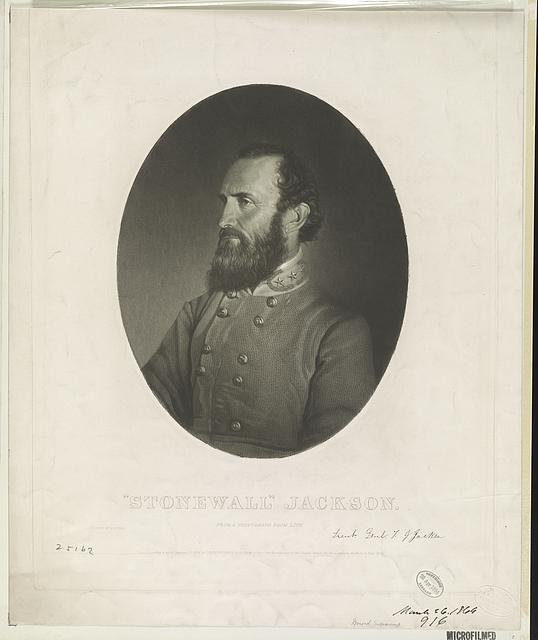 """Stonewall"" Jackson From a photograph from life /"