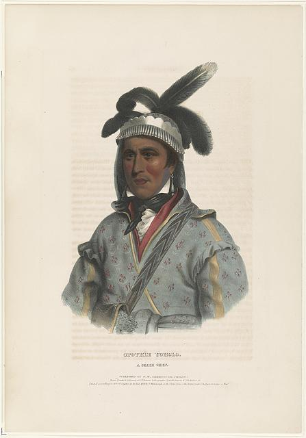 Opothle Yoholo A Creek chief /