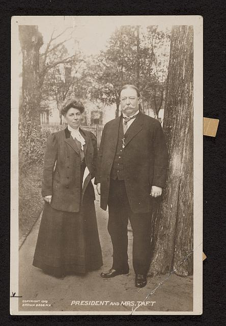 President and Mrs. Taft
