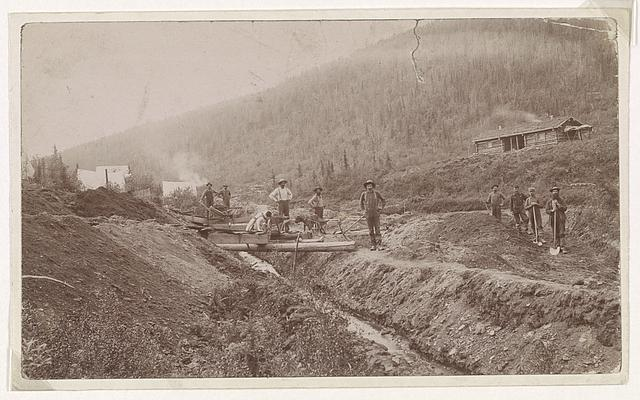 [Gold miners, El Dorado, California]