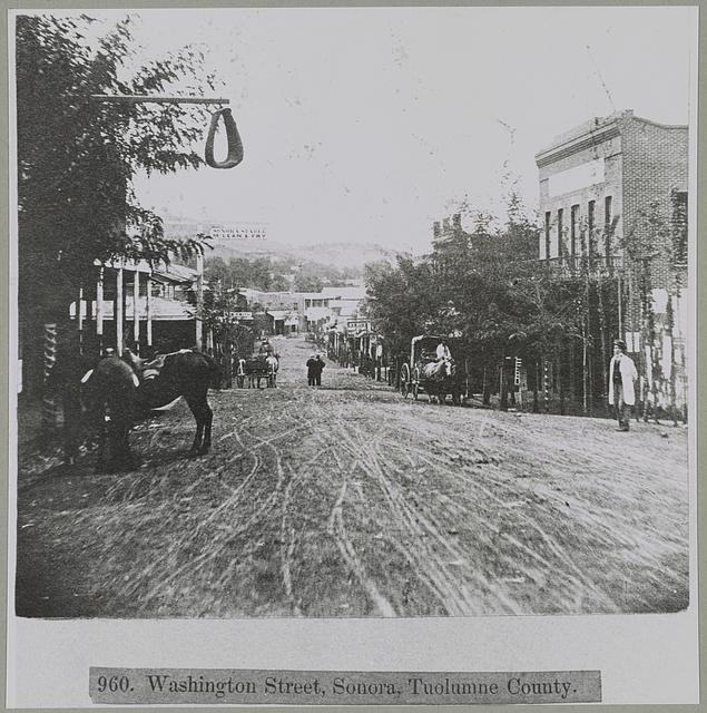 Washington Street, Sonora, Tuolumne County, California