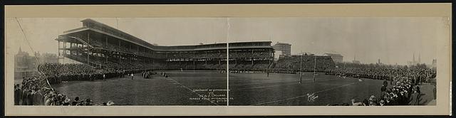 University of Pittsburgh  vs. W. & J. College, Forbes Field, Pittsburgh, Pa., Sat., Nov. 6, 1915