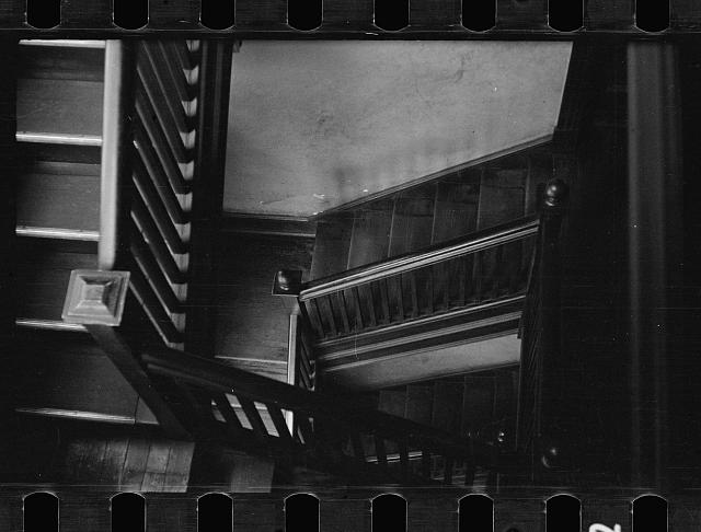 [Untitled photo, possibly related to: Stairway in rooming house, Washington, D.C.]
