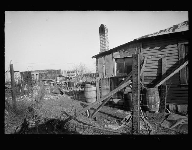 [Untitled photo, possibly related to: House typical of Steel Subdivision, Hamilton County, Ohio]