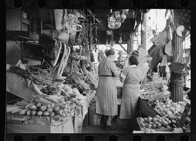 Marketplace at New Orleans, scene of many rehabilitation clients' cash sales, Louisiana