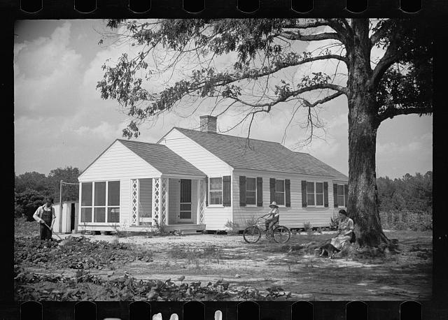 One of the Penderlea homesteads, North Carolina