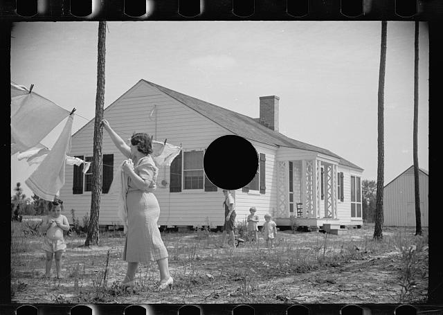 [Untitled photo, possibly related to: One of the homesteads, Penderlea, North Carolina]