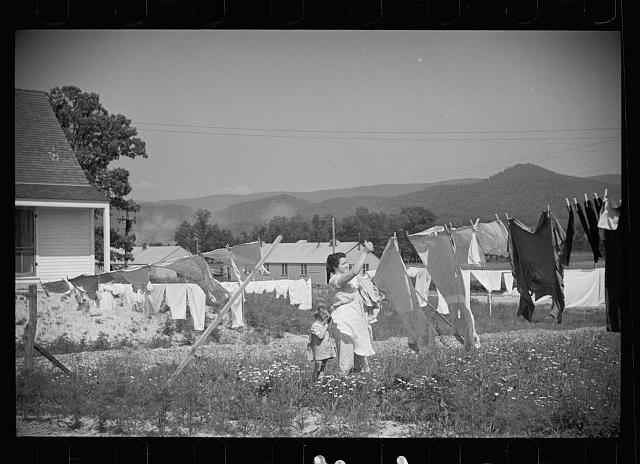 [Untitled photo, possibly related to: Tygart Valley Homesteads, West Virginia]