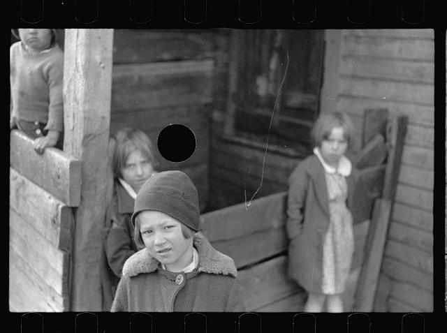 [Untitled photo, possibly related to: Coal miner's son, Kempton, West Virginia]