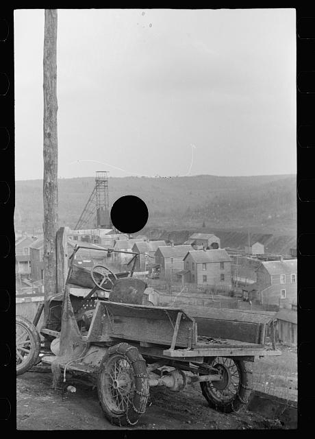 [Untitled photo, possibly related to: Company town, Kempton, West Virginia]