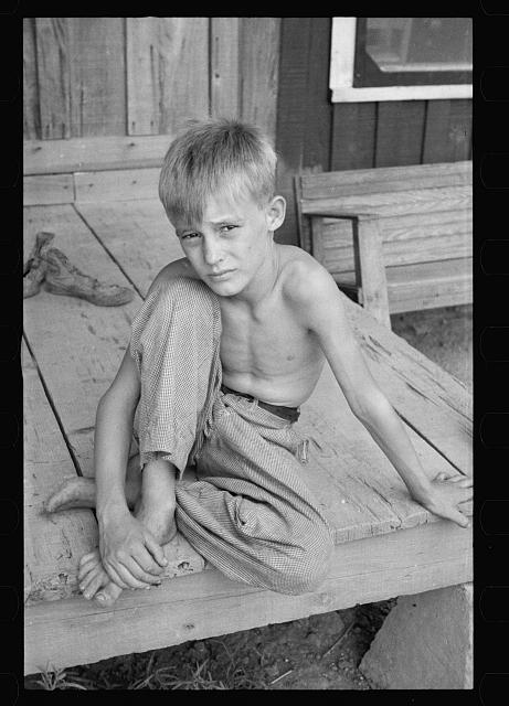 Son of a sharecropper, Mississippi County, Arkansas