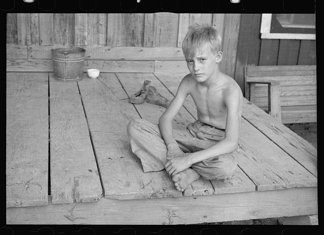 Son of a sharecropper, Wilson cotton plantation, Arkansas