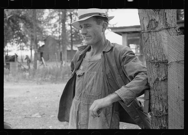 [Untitled photo, possibly related to: Sharecropper, Wilson cotton plantation, Arkansas]