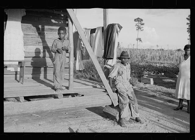 [Untitled photo, possibly related to: Negro rehabilitation client, Tangipahoa Parish, Louisiana]