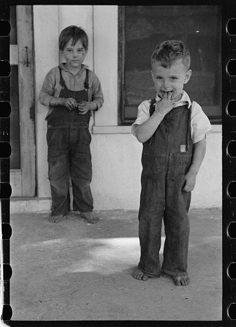 [Untitled photo, possibly related to: Son of a citrus worker, Winter Haven, Florida]