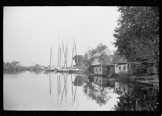 [Untitled photo, possibly related to: Oyster fishing boats, Bivalve, New Jersey]