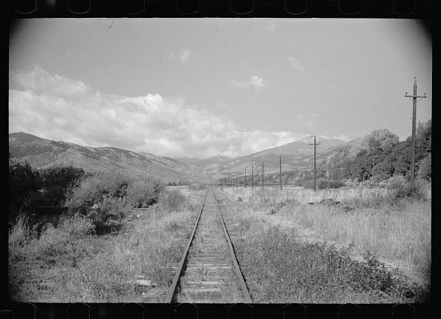 Railroad track, Chaffee County, Colorado
