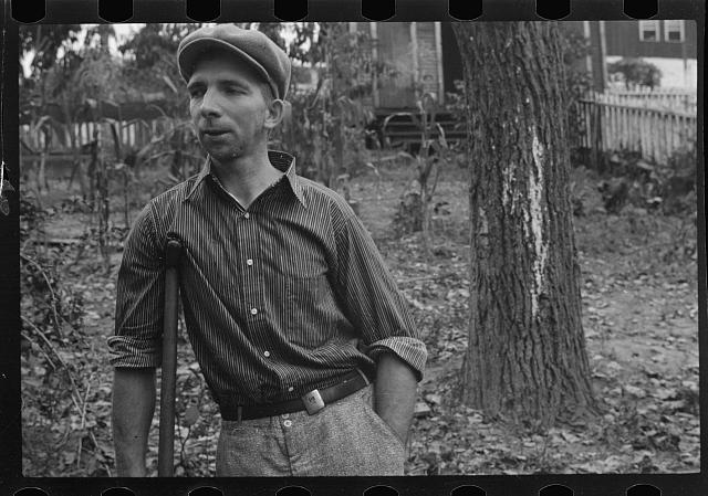 Crippled miner, Westmoreland, County, Pennsylvania