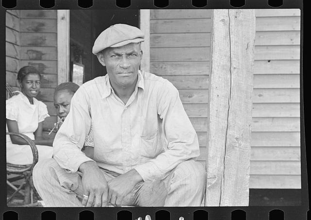 Sharecropper on Sunday, Little Rock, Arkansas