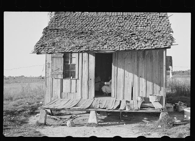 Home of tenant farmer, Arkansas