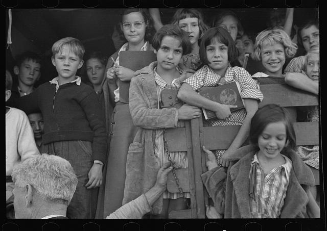 School youngsters, Red House, West Virginia