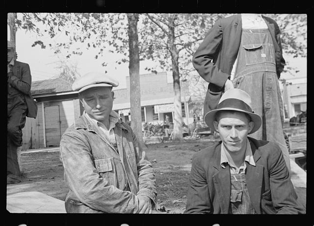 [Untitled photo, possibly related to: Residents of Camden, Tennessee]