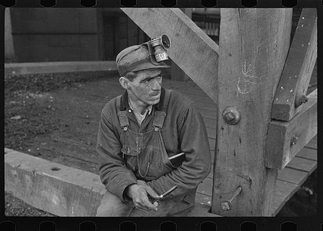 Kentucky coal miner, Jenkins, Kentucky