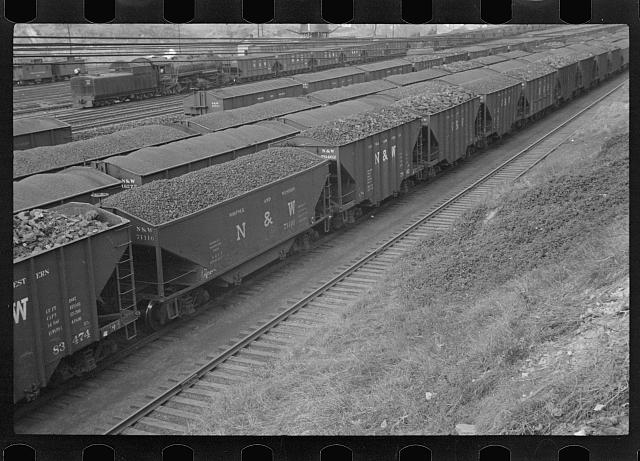 Railroad yards at Williamson, West Virginia