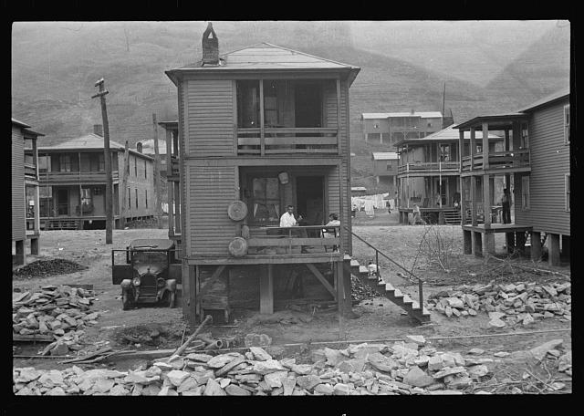 Tenement houses, Omar, West Virginia