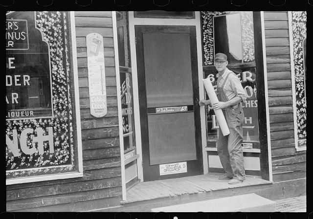 [Untitled photo, possibly related to: Wonder Bar, hot spot of Circleville, Ohio (see general caption)]