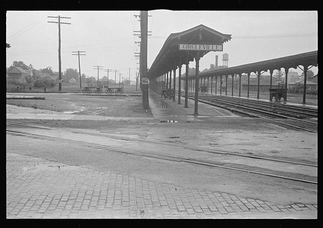 Railroad station of Circleville, Ohio (see general caption)