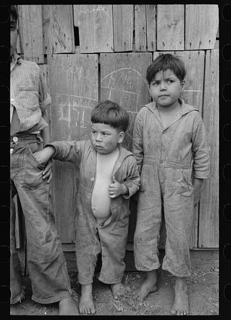 Mexican children, San Antonio, Texas