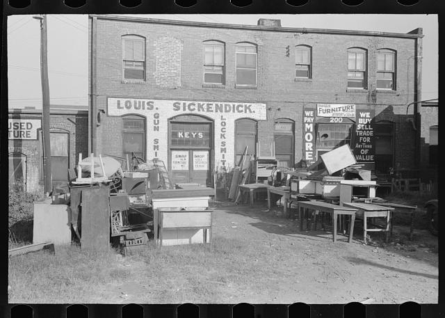 Secondhand and trading store, Muskogee, Oklahoma