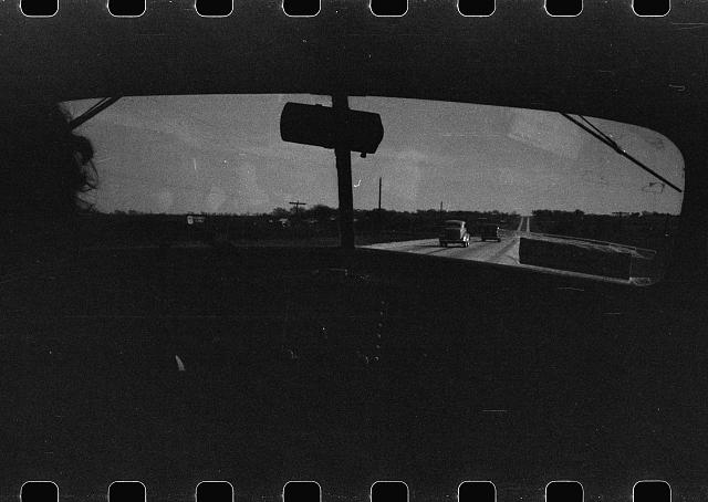[Untitled photo, possibly related to: Highway in Bexar County, Texas, from an automobile]