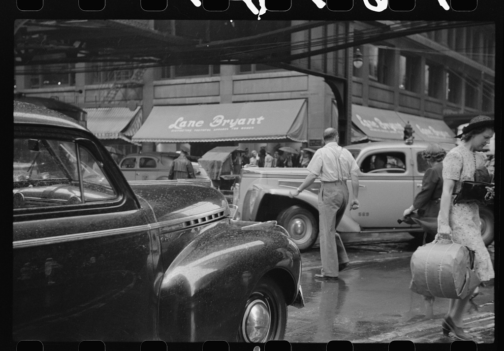 1941 photo of Chicago, Illinois