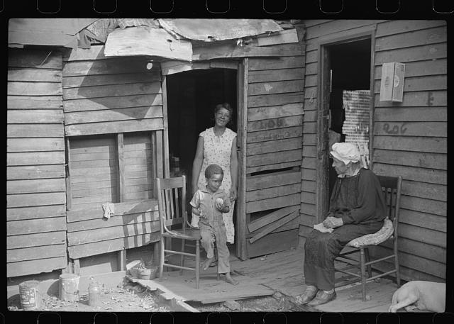 Negro homes, Charleston, West Virginia