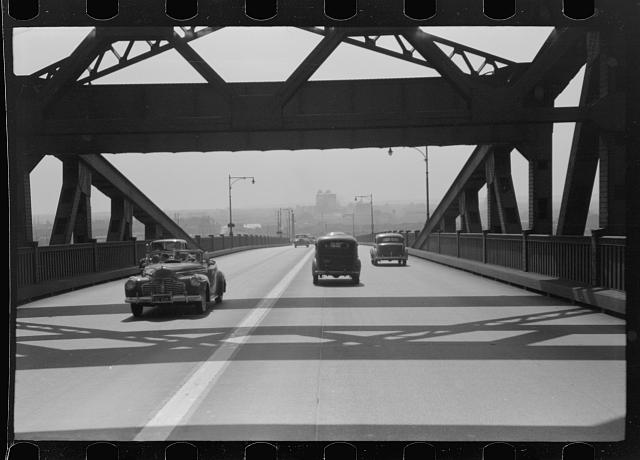 Pulaski Skyway from New York City to New Jersey