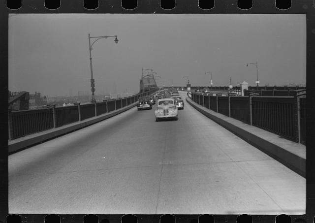 [Untitled photo, possibly related to: Pulaski Skyway from New York City to New Jersey]