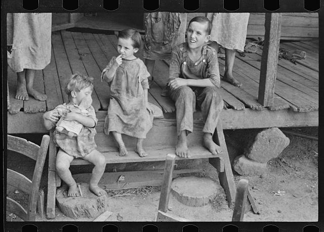Tengle children, Hale County, Alabama
