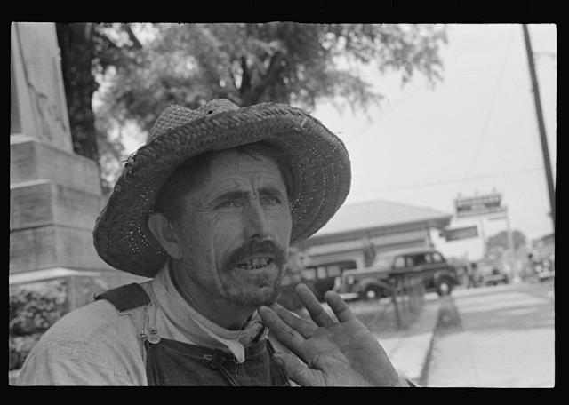 [Untitled photo, possibly related to: Frank Tengle, Hale County, Alabama]
