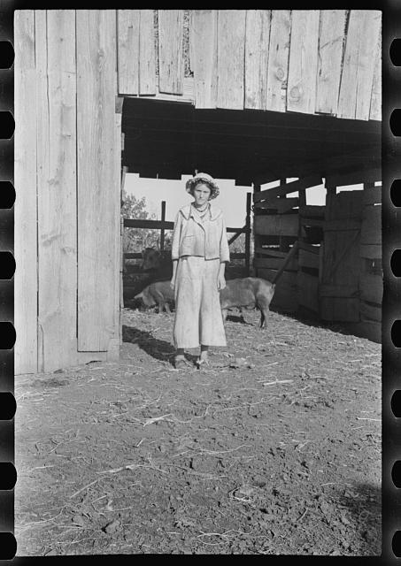 [Untitled photo, possibly related to: Dora Mae Tengle, Hale County, Alabama]