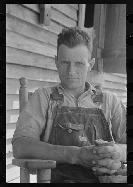 [Untitled photo, possibly related to: Floyd Burroughs, Hale County, Alabama]