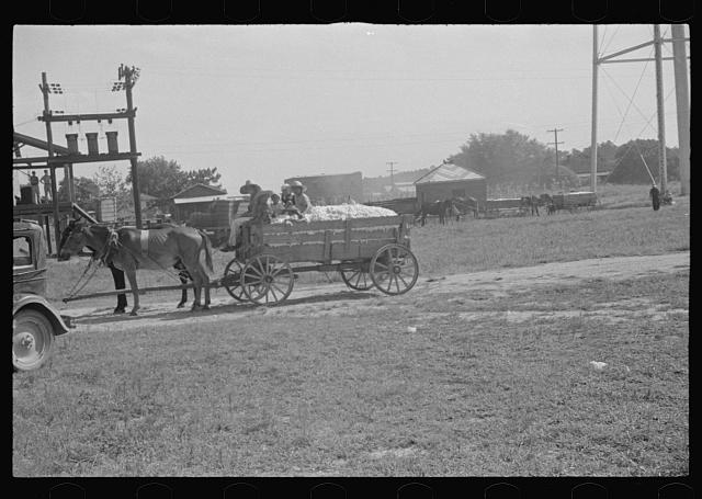 [Untitled photo, possibly related to: Cotton gin, Hale County, Alabama]