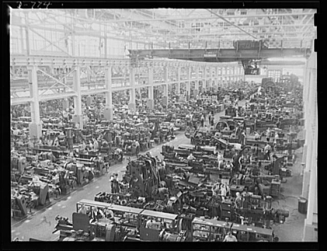 Interior of the tool and ie building ford river rouge for Ford motor company detroit michigan phone number
