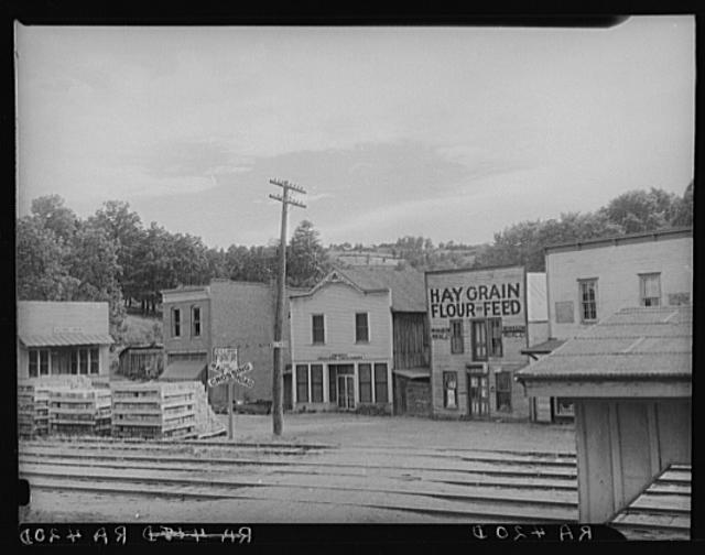 View of Winslow. Madison County, Arkansas