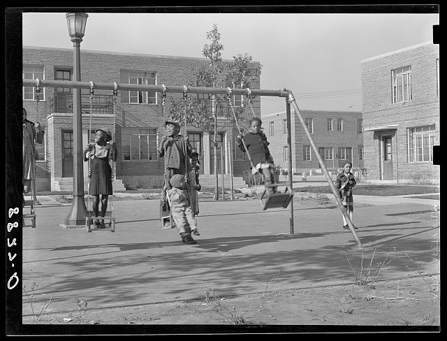 PWA (Public Works Administration) housing projects for Negroes. Omaha, Nebraska